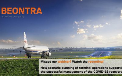Watch our webinar recording: How scenario planning of terminal operations supports the successful management of the COVID-19 recovery
